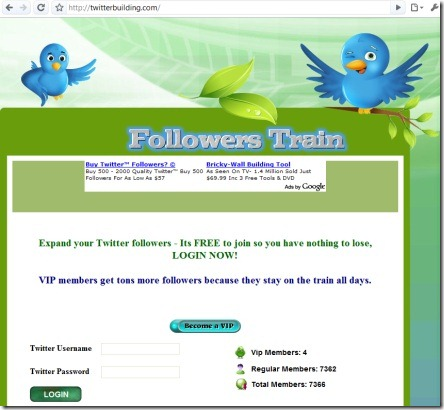 twitterbuilding.com - fake site
